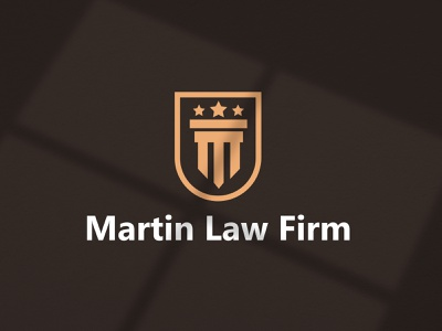 Martin Law Firm Logo Identity logo design branding brand icon minimal brand identity logodesign lawyer firm law corporate