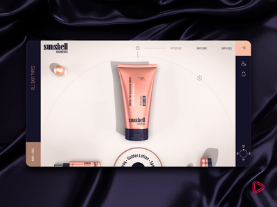 Web Design & Motion | Sneak Previews product design tool cosmetics transitions blog design teasers web design branding animation