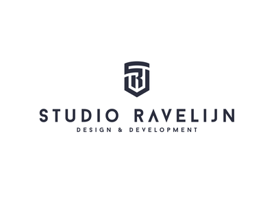 Studio Ravelijn sr logo monogram ravelijn studio