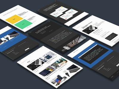 Сorporate site for a team of developers and integrators developer portfolio code ui  ux website webdesign minimal developers