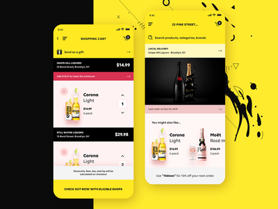 MBD - Liquor, Beer, & Wine - Marketplace iOS App