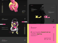 lolololol creatives - Creative agency landing page design website design web design website ui design agency creative studio landing page film studio branding