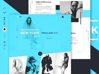 FSHNN - Fashion landing page concept