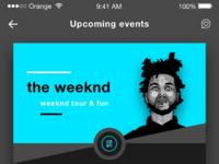 Remqiu music events tickets ios app design ui dribbble shot 6
