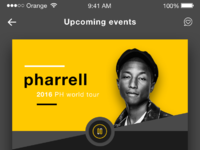 Remqiu music events tickets ios app design ui dribbble shot 4