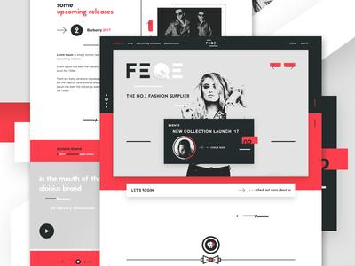FEQE - Fashion luxury shopping website