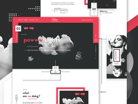 WMWI - Digital agency landing page - #2