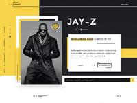 Eveprx music events tickets landing page design webdesign ux ui design dribbble full 2
