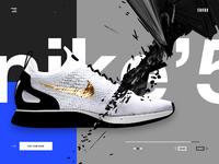 Snkrd nike sneakers shop online landing page ui ux design webdesign dribbble full v2