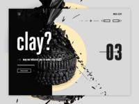MAH-CLAY - Pottery & stuff landing page design