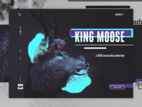 NOSKTLS - Digital Agency landing page concept #2