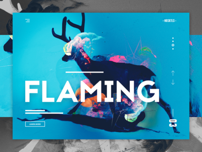 NOSKTLS - Digital Agency landing page concept #3