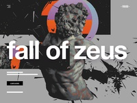 Fall of zeus fogod ui ux design website art expo dribbble full 4