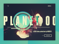 NOSKTLS - Digital Agency landing page concept #6