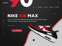 Donikord sneakers online shop landing page ux ui design dribbble full 5