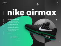 Ochcinci landing page nike design ui ux product web dribbble full 4
