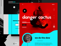 NOSKTLS - Digital Agency landing page concept