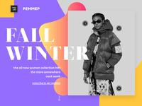 Pemmep online fashion store webdesign ux ui design dribbble full4