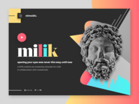 stimsidic - digital agency landing page design
