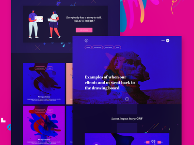 PaperplaneCo - Creative Agency landing page design #4