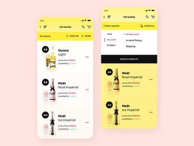 MBD - Liquor, Beer, & Wine - Marketplace iOS App