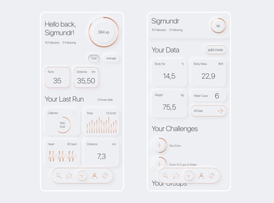 Running App 2.0 | Soft UI