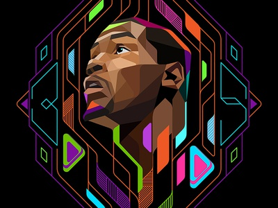 Kevin Durant Illustration