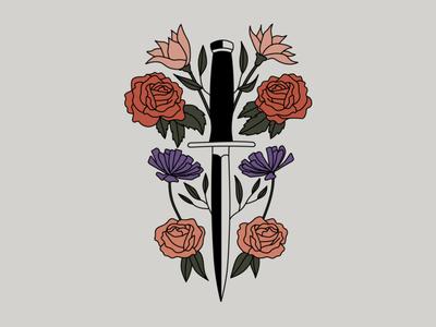 Issa Knife vector logo icon branding brand design adobe lineart illustration illustrator design