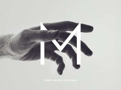 Cover for piano compositions photography photo typography cover music song hand bw