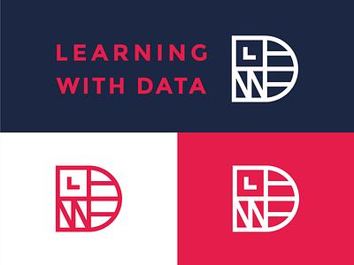 LWD lucas braga minimal icon line logotype symbol mark logo identity