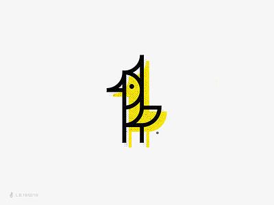 PUTITIU Logo brazil bird branding modern design brand minimal line icon logotype logo symbol mark identity lucas braga