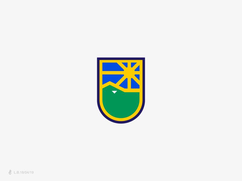 Ibituruna Clube De Futebol illustration design brand icon logotype logo rio doce football lucas braga identity minimal symbol mark governador valadares minas gerais brazil soccer shield badge