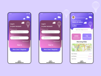 Login Page Design for Cycle App