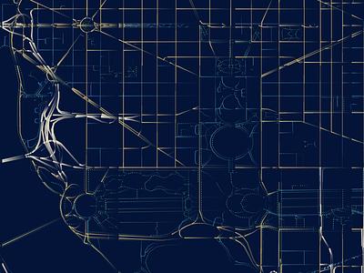D.C. in Motion map d3 svg vector tiles openstreetmap