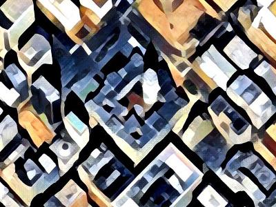 Philadeplhia City Hall machine-learning satellite map