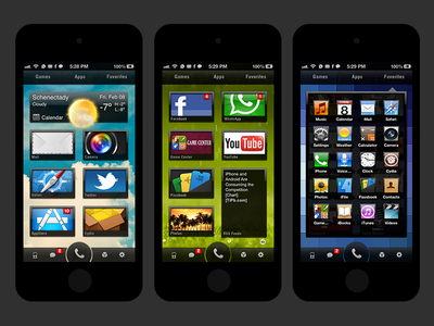 BoxorHD for iPhone boxorhd iphone themes dreamboard