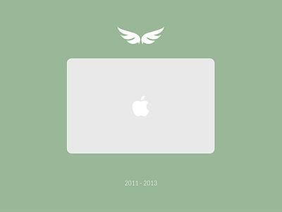 Tribute for my Macbook Air rip tribute macbook macbook air broken