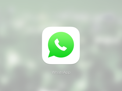 WhatsApp iOS7 whatsapp ios7 iphone chat message icon ui redesign revamp bubble chat bubble