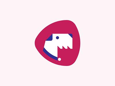 Wire Fox Terrier Mascot media buckwheat logomark foxterrier logotype logo branding mascot character doggo dog puppy pet ukraine