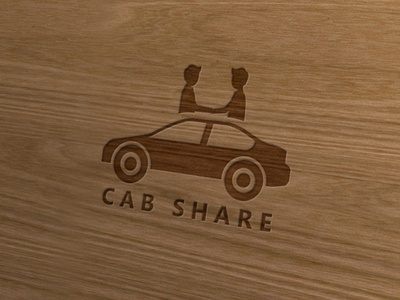 Attractive Logo For Cab Share