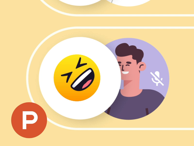 Nod is on Product Hunt 🥳 video call video conferencing video reactions emoji chrome extension nod