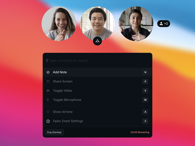 Collaboration Mode for Zoom video call video conferencing zoom collaborate