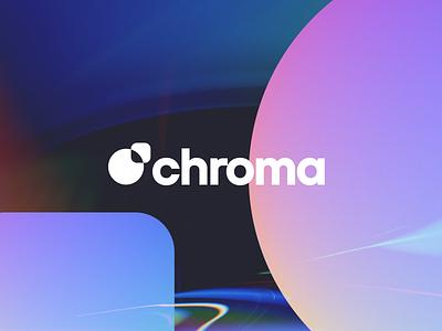 Chroma brand experiments light leak chromatic aberration chroma chromatic logotype logo branding branding design brand