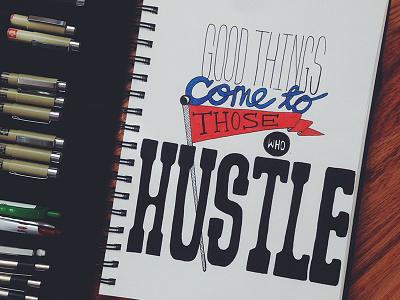 Goodthingscomesm lettering hand lettering design