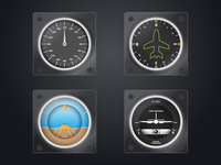 Some WIP Plane Gauges