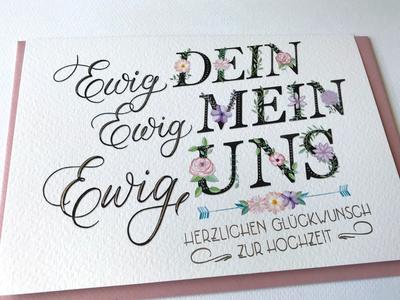 Forever yours, forever mine, forever us: Wedding Design