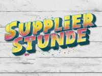 Lettering: Supplierstunde