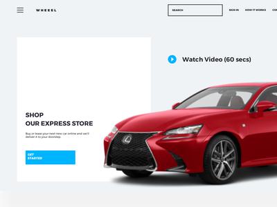 Wheelin Website - Rent Car Project