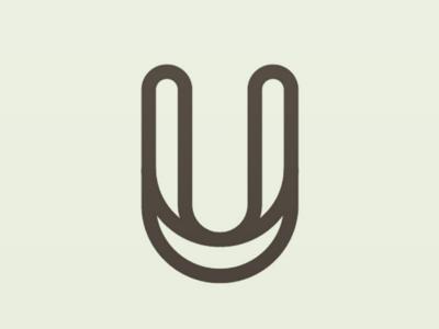 Simple U logo