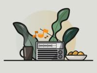 Coffee and Radio